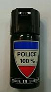 SPRAY DE DEFENSA GEL CON PIMIENTA CS-GAS 40ML 100%POLICE
