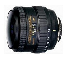 Tokina AF 10-17mm f/3.5-4.5 Fisheye NH(Full Frame)
