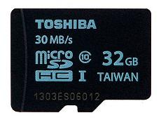 TOSHIBA MICROSDHC 32 GB CLASE 10