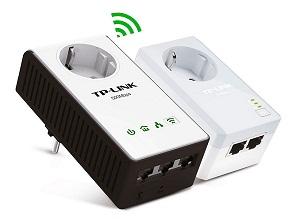 TP-LINK TL-WPA4230P KIT INTERNET POR ENCHUFES 500 Mbps