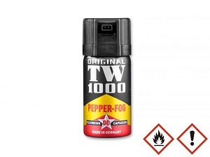 TW 1000 Pepper Fog Man, Gas Pimienta 40ml made in Germany