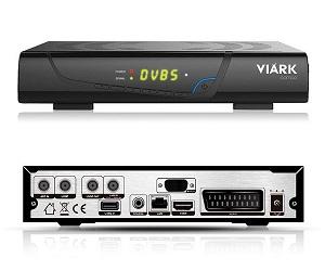 VIARK COMBO RECEPTOR SATÉLITE TDT CABLE DVB-S2 DVB-T2 DVB-C CON H.265 HEVC FULLHD WIFI  SKU: +20107