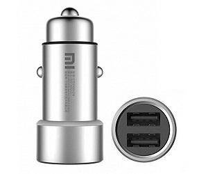 XIAOMI CARGADOR DOBLE USB PARA MECHERO DEL COCHE  SKU: +94081