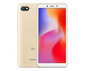 XIAOMI REDMI 6A DORADO MÓVIL 4G DUAL SIM 5.45 IPS HD+/4CORE/16GB/2GB RAM/13MP/5MP  SKU: +99316