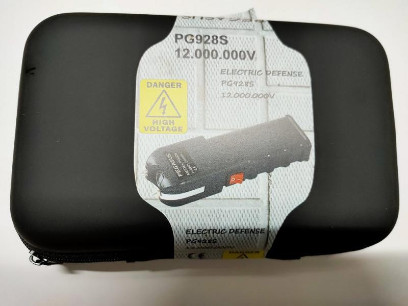 Compra un buen taser potente, el PG928 de 12.000KV