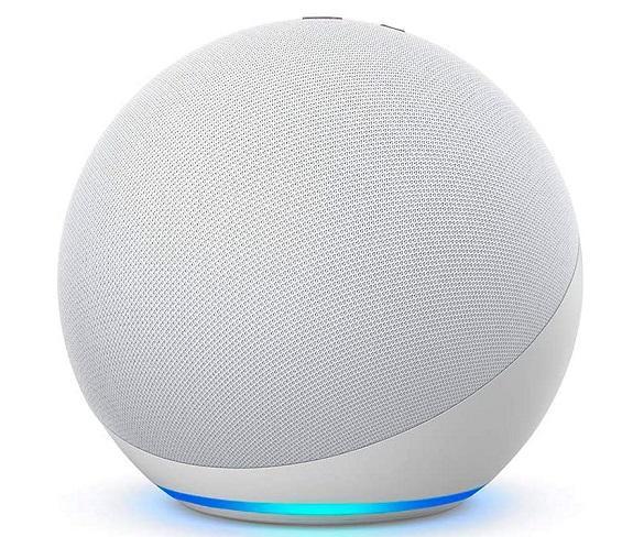 Amazon Altavoz Echo Blanco 4ª Generación/Controlador de Hogar digital/Alexa