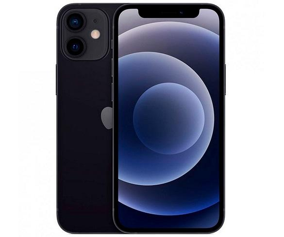 APPLE IPHONE 12 MINI NEGRO MÓVIL DUAL SIM 5G 5.4 OLED SUPER RETINA XDR CPU A14 BIONIC 64GB 6GB RAM