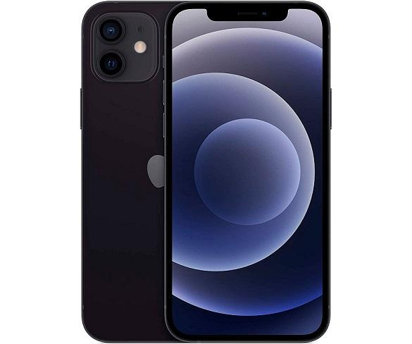 APPLE IPHONE 12 NEGRO MÓVIL DUAL SIM 5G 6.1 OLED SUPER RETINA XDR CPU A14 BIONIC 128GB 6GB RAM