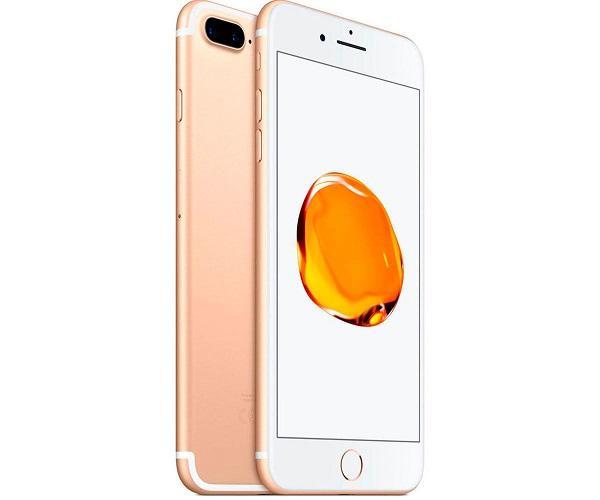 APPLE IPHONE 7 PLUS 256GB Gold Reacondicionado CPO 4G 5.5 RETINA FHD/4CORE/256GB/3GB RAM/12MP+12MP