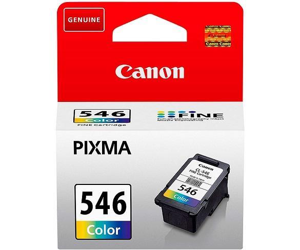 CANON CL-546 TRICOLOR CARTUCHO DE TINTA 8ml FINE PIXMA CIAN MAGENTA AMARILLO  SKU: +23133