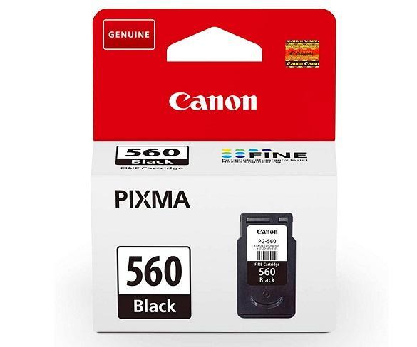 CANON PG-560 COLOR NEGRO CARTUCHO DE TINTA 8ml FINE PIXMA  SKU: +23135