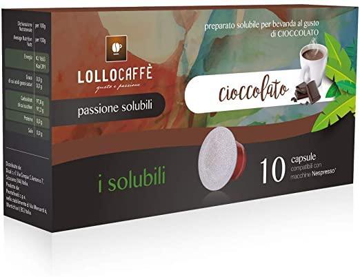 Lollocaffè Capsule Comp. Nespresso Chocolato 10pz