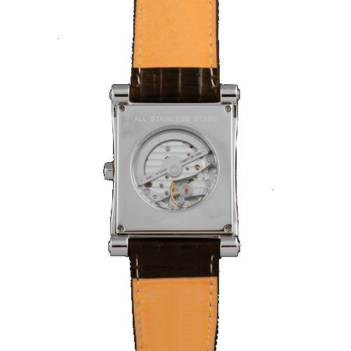 Reloj Duward Hombre Automático D88005.11 rectangular color negro