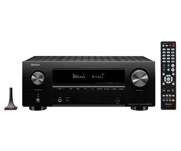 Denon AVR-X2700H Negro/Receptor AV/4K Ultra HD/7.2ch/145W/Dolby Atmos/DTS/3D/ARC