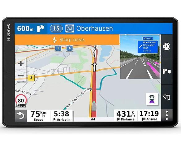GARMIN DEZL LGV1000 NAVEGADOR PARA CAMIÓN 10 GPS CON MAPAS PREINSTALADOS DE EUROPA