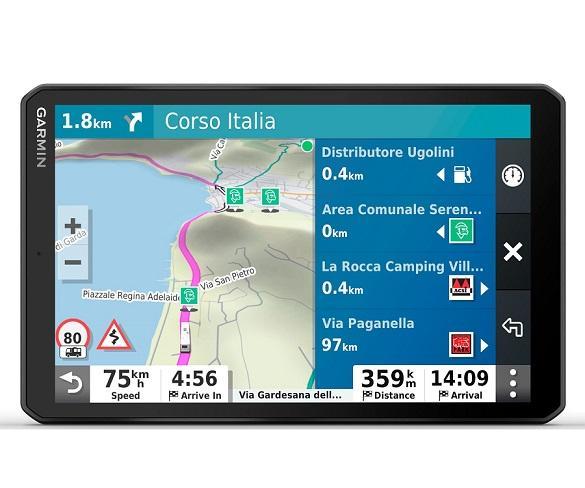 GARMIN CAMPER 1090 EU MT-S GPS PARA AUTOCARAVANAS CON MAPAS PREINSTALADOS DE EUROPA PANTALLA DE 10