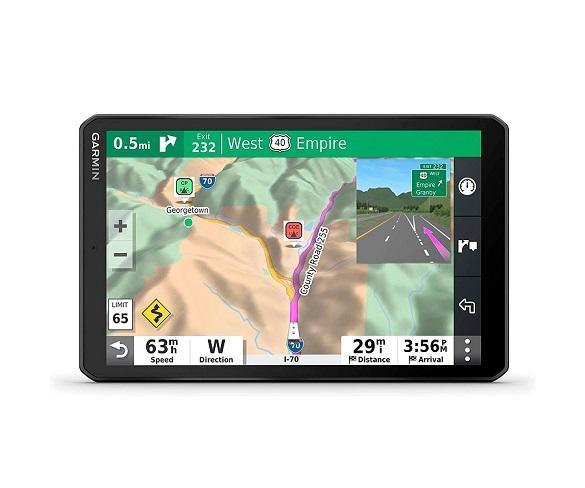 GARMIN CAMPER 890 EU MT-S GPS PARA AUTOCARAVANAS CON MAPAS PREINSTALADOS DE EUROPA PANTALLA DE 8