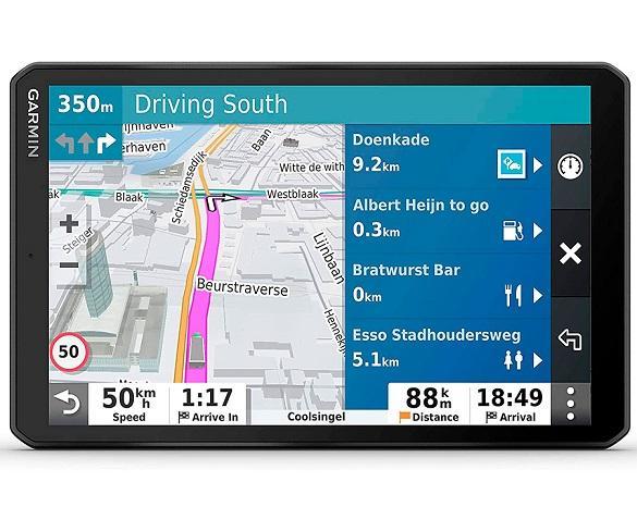 GARMIN DEZL LGV800 NAVEGADOR PARA CAMIÓN 8 GPS CON MAPAS PREINSTALADOS DE EUROPA