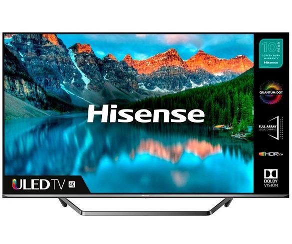 HISENSE H65U7QF TELEVISOR 65 SMART TV ULED 4K UHD HDR 2500PCI CI+ HDMI USB BLUETOOTH  SKU: +22821