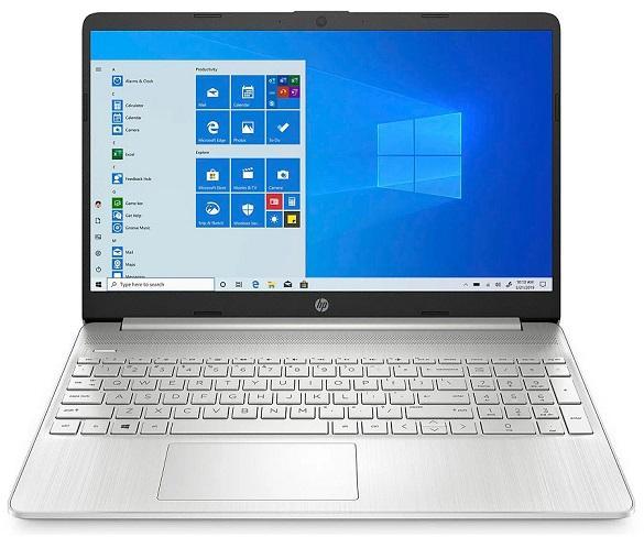 HP LAPTOP 15s-EQ1000NS BLANCO PORTÁTIL 15.6 AMD ATHLON Silver 3050U 256GB SSD 8GB RAM WINDOWS 10