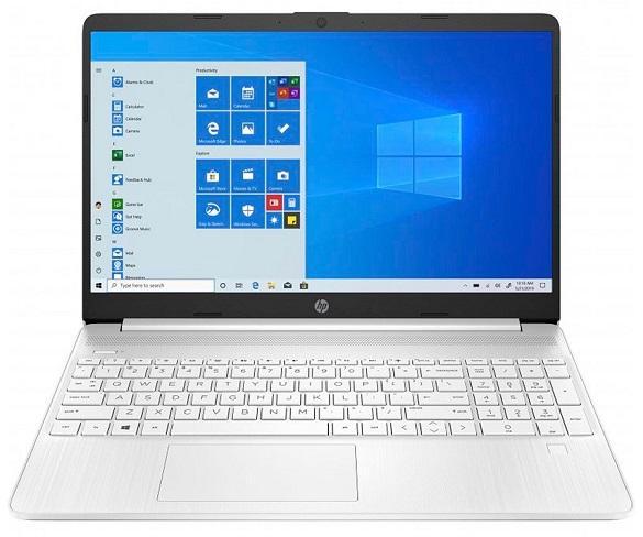 HP LAPTOP 15s-EQ1009 BLANCO PORTÁTIL 15.6 HD AMD RYZEN 3-3250U 512GB SSD 8GB RAM WINDOWS 10 HOME