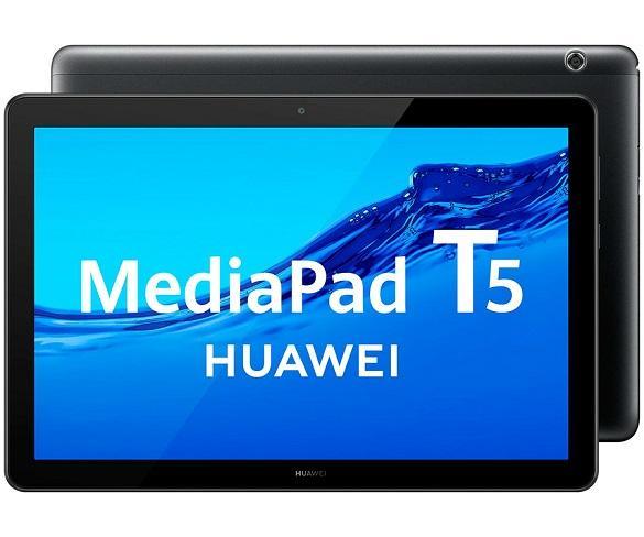 HUAWEI MEDIAPAD T5 NEGRO TABLET WIFI 10.1 IPS FULLHD OCTACORE 32GB 2GB RAM CAM 5MP SELFIES 2MP