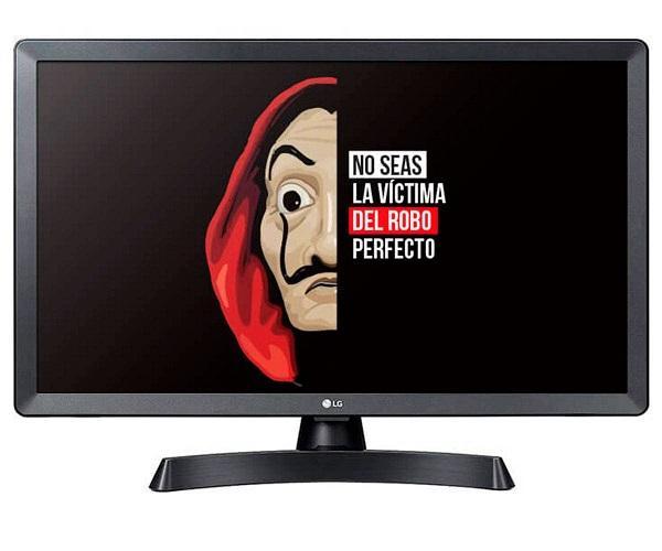 LG 28TL510S-PZ NEGRO TELEVISOR MONITOR 28 LCD LED HD READY SMART TV  SKU: +22504