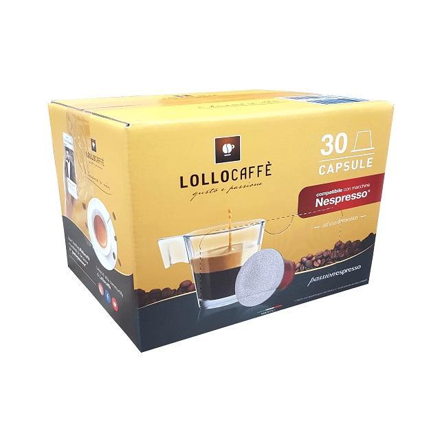 Lollo Box Cápsulas Passion Nespresso Mezcla Oro 30