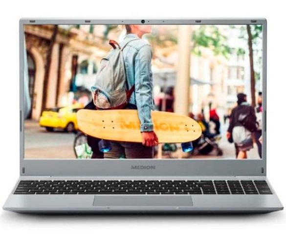 MEDION AKOYA E15301 MD62019 PLATA PORTÁTIL 15.6 FullHD RYZEN 5 3500U 256GB SSD 8GB RAM WINDOWS 10