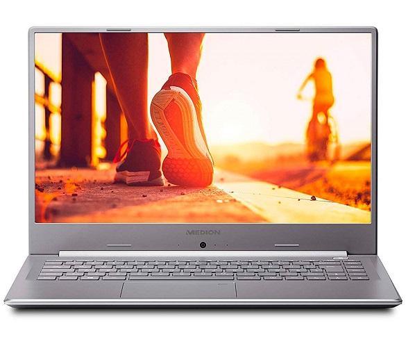MEDION P6645 PLATA PORTÁTIL ULTRAFINO 15.6 FullHD i5-8264U 3.9GHz 256GB-SSD 1TB-HDD 8  SKU: +22526