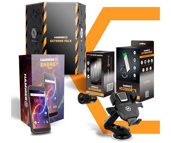 MYPHONE HAMMER EXTREME PACK ENERGY 2 NEGRO MÓVIL RUGERIZADO 4G DUAL SIM 5.5 IPS  SKU: +23085
