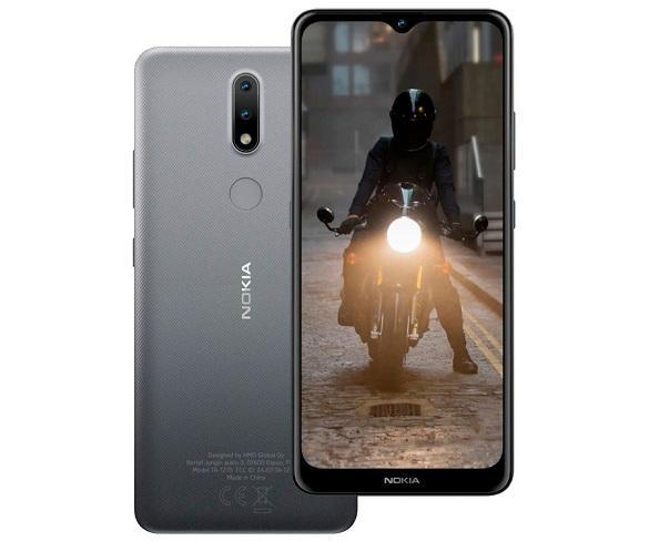 NOKIA 2.4 GRIS MÓVIL 4G SIM 6.5 HD+ OCTACORE 64GB 3GB RAM DUALCAM 8MP SELFIES 5MP