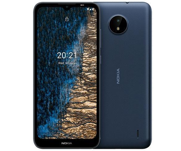 NOKIA C20 Azul oscuro/Móvil 4G/Dual Sim/ 6.5 HD+/ 8-Core 1.6Ghz/ 32GB/2GB RAM/CAM 5MP + 5MP