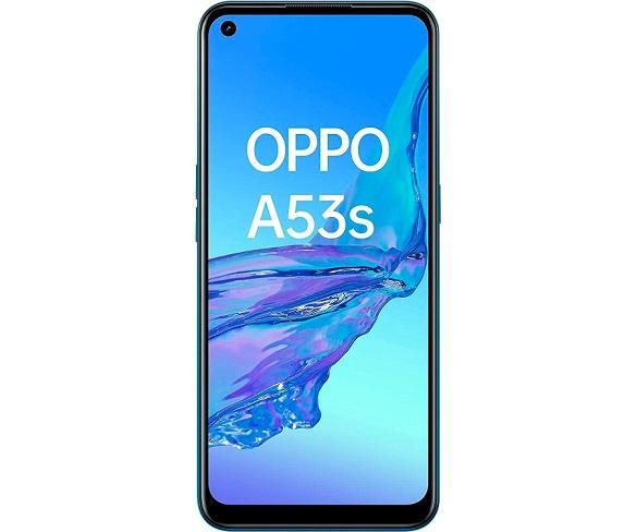 OPPO A53S AZUL MÓVIL DUAL SIM 4G 6.5 IPS 90Hz HD+ OCTACORE 128GB 4GB RAM TRICAM 13MP SELFIES