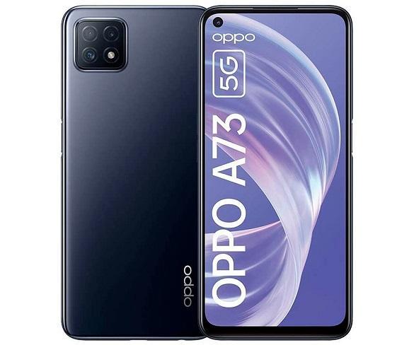OPPO A73 AZUL MARINO MÓVIL 5G DUAL SIM 6.5 90Hz FHD+ OCTACORE 128GB 8GB RAM TRICAM 16MP SELFIES