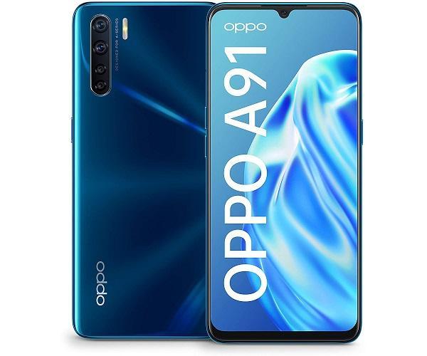 OPPO A91 BLAZING BLUE MÓVIL 4G DUAL SIM 6.4 AMOLED FHD+/8CORE/128GB/8GB RAM  SKU: +22446