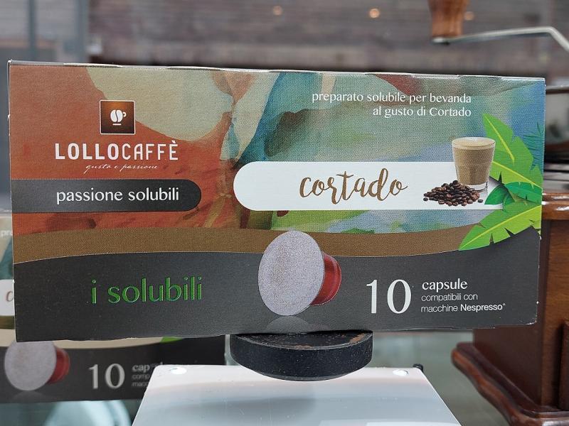 Lollocaffè Capsule Comp. Nespresso Cortado 10pz