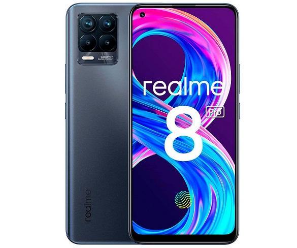 REALME 8 PRO 4G NEGRO DUAL SIM 6.4 SUPER AMOLED FHD+ OCTACORE 128GB 8GB RAM QUADCAM 108MP SELFIES