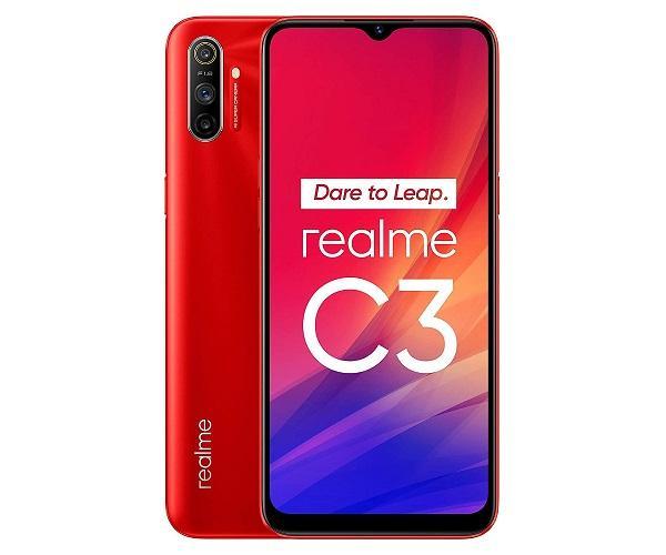 REALME C3 ROJO VIVO 4G DUAL SIM 6.5 IPS HD+ OCTACORE 64GB 3GB RAM TRICAM 12MP  SKU: +22261