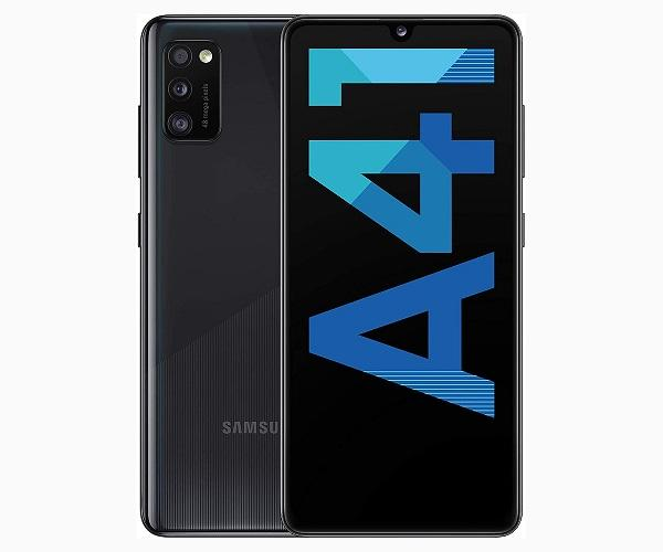 SAMSUNG GALAXY A41 NEGRO MÓVIL 4G DUAL SIM 6.1 SUPER AMOLED FHD+/8CORE/64GB/4GB RAM  SKU: +22316