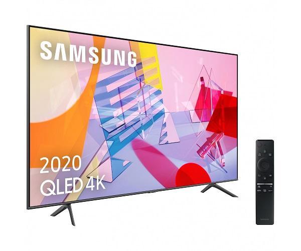 SAMSUNG QE55Q60T 2020 TELEVISOR 55 QLED 4K QUANTUM HDR SMART TV 3100Hz PQI  SKU: +22519