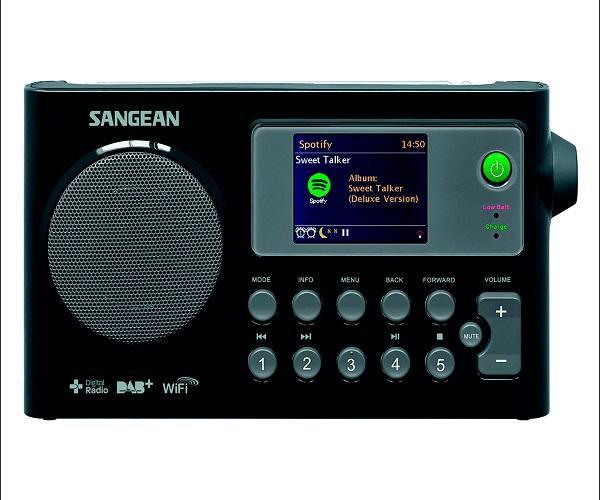 SANGEAN WFR-27 RADIO CON INTERNET