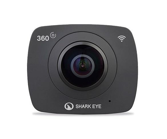 SHARK EYE 360VR VIDEOCÁMARA DEPORTIVA ESFÉRICA 360º 30 FPS CONECTIVIDAD WIFI