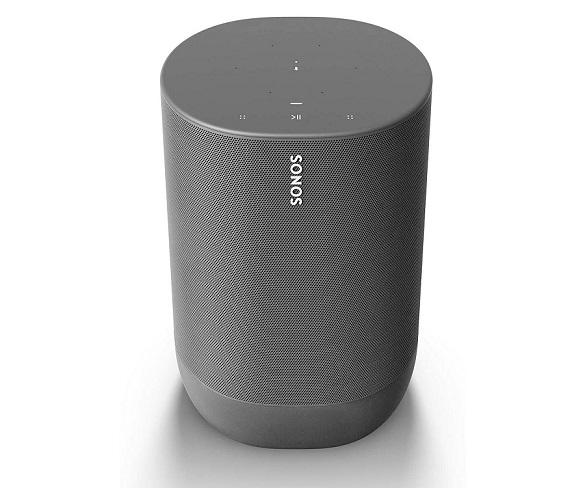 SONOS MOVE NEGRO ALTAVOZ INTELIGENTE IP56 CON BATERÍA WIFI BLUETOOTH CON AIRPLAY 2 GOOGLE ASSISTANT