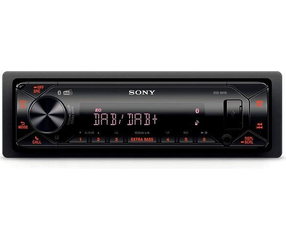 SONY DSX-B41D RECEPTOR MULTIMEDIA 4x55W CON RADIO DAB USB BLUETOOTH PARA EL COCHE
