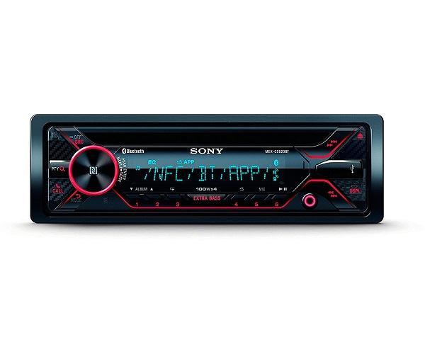 SONY MEX-GS820BT RECEPTOR DE CD CON BLUETOOTH 4x100W PARA EL COCHE CON CONTROL POR VOZ  SKU: +99305