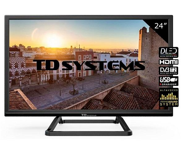 TD SYSTEMS K24DLM10H TELEVISOR 24 LCD DIRECT LED HD READY HDMI USB CI  SKU: +22656