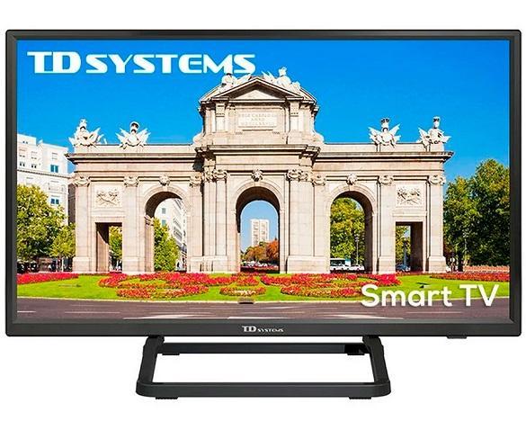 TD SYSTEMS K24DLX10HS TELEVISOR 24 LCD DIRECT LED SMART TV HD READY HDMI USB CI  SKU: +22655